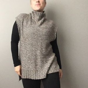 Lole Tosia Tunic Turtleneck Sleeveless Sweater